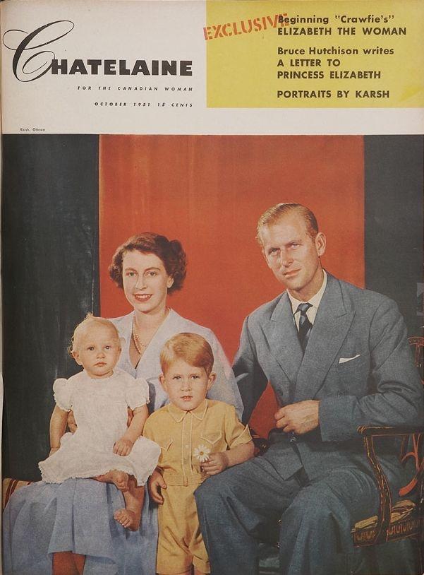 """October 1951 - """"A letter to Princess Elizabeth"""""""