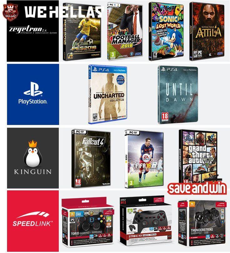 Επετειακός Διαγωνισμός 14 Χρόνια WeHellas με δώρο παιχνίδια και χειριστήρια για PC, PS4, PS3! - http://www.saveandwin.gr/diagonismoi-sw/epeteiakos-diagonismos-14-xronia-wehellas-me-doro-paixnidia-kai-xeiristiria/