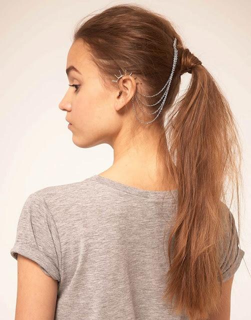 Best DIY Ear Cuff Images On Pinterest Ear Cuffs Jewelry - Ponytail cuff diy