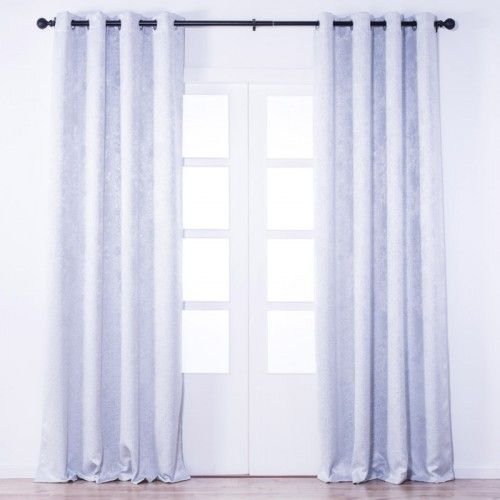 CLIFF Light Blocking Curtain (White)
