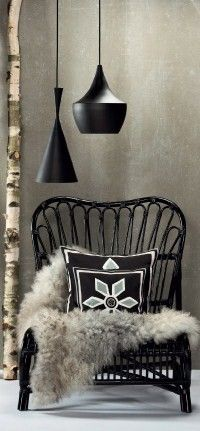 Home I Interior I Furniture I Eating I Messing Leuchte I Schwarz I Black I Beat Light Fat & Beat Light Tall Lighting by Tom Dixon