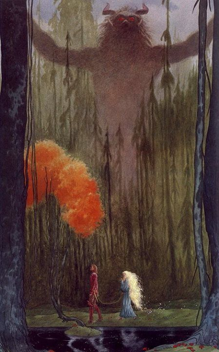 Charles Vess (stardust by neil gaiman?):