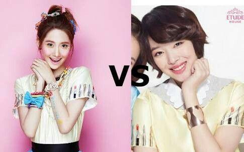 Yoona X Sulli 👉 Yoona looks so much cute 💕