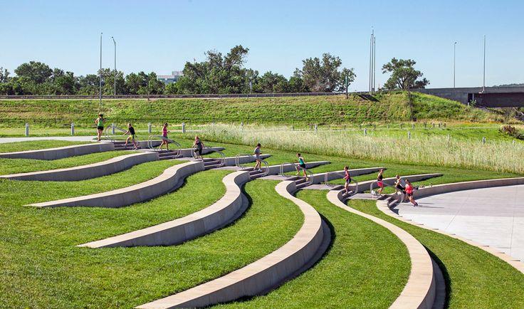 Tom Hanafan Rivers Edge Park – Sasaki Associates, Inc