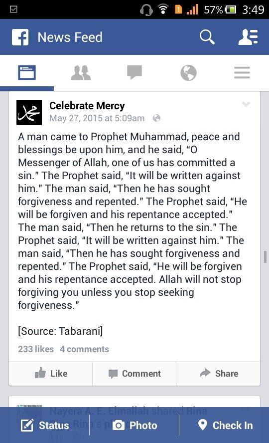 :) unless you stop seeking forgiveness