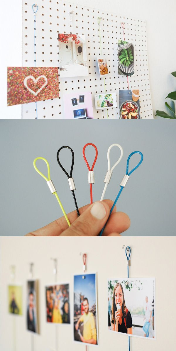 White Magnetic Photo Ropes