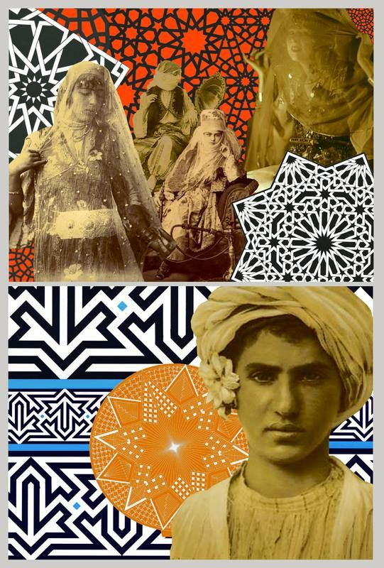 *Pop Maroc* - graphic art by Laura Li