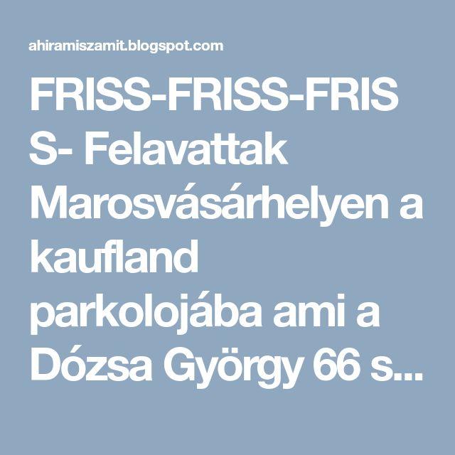 FRISS-FRISS-FRISS- Felavattak Marosvásárhelyen a kaufland parkolojába  ami a Dózsa György 66 szám alatt található az első elektromos kocsi töltő pontot, ami tényleg az első a városban,.