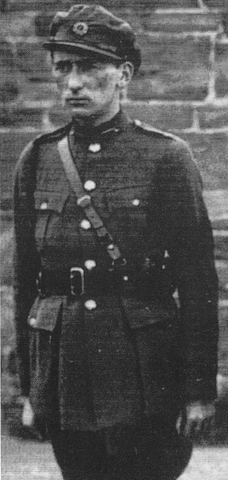Liam Tobin at the funeral of Michael Collins, 1922. Major General Liam Tobin (born William Joseph Tobin; 1895 - 30 April 1963) was an officer in the Irish Army and the instigator of an Army Mutiny in March 1924. During the Irish War of Independence, he served as an IRA intelligence officer for Michael Collins' Squad.