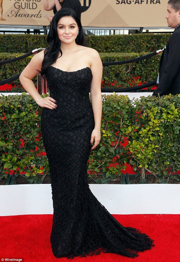 Big week! Modern Family star Ariel Winter attended the SAG Awards in LA on Saturday night...