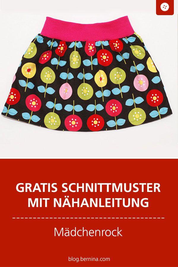 Girl skirt with summer flowers