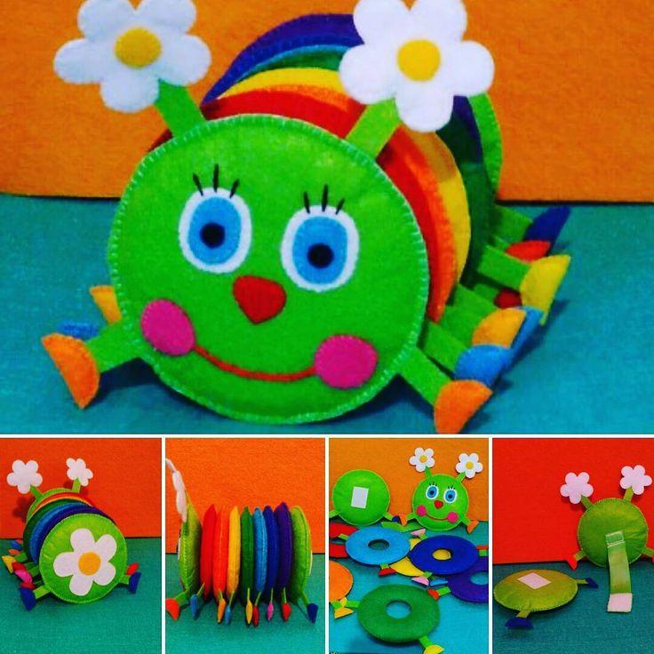 Моя любимая игрушка) Взяла за основу идею у мастерицы Ольги Мартемьяновой. Ни один малыш не остался равнодушным)) А вам как?