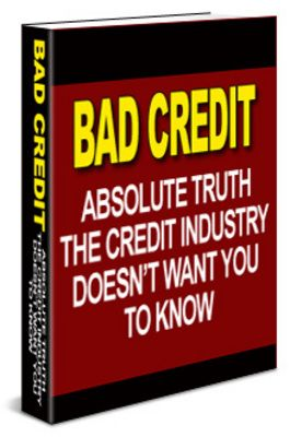 how to get a home loan with bad credit rating