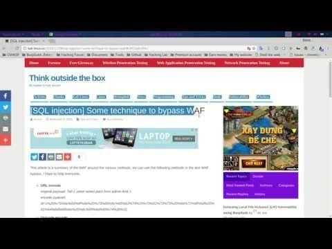 Nice MySQL injection login Bypass More Info on http LIFEWAYSVILLAGE