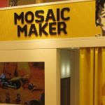 London UK- lego store --Introducing the LEGO Mosaic Maker