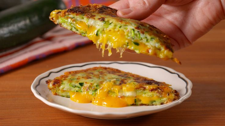 Zucchini Grilled Cheese  - Delish.com