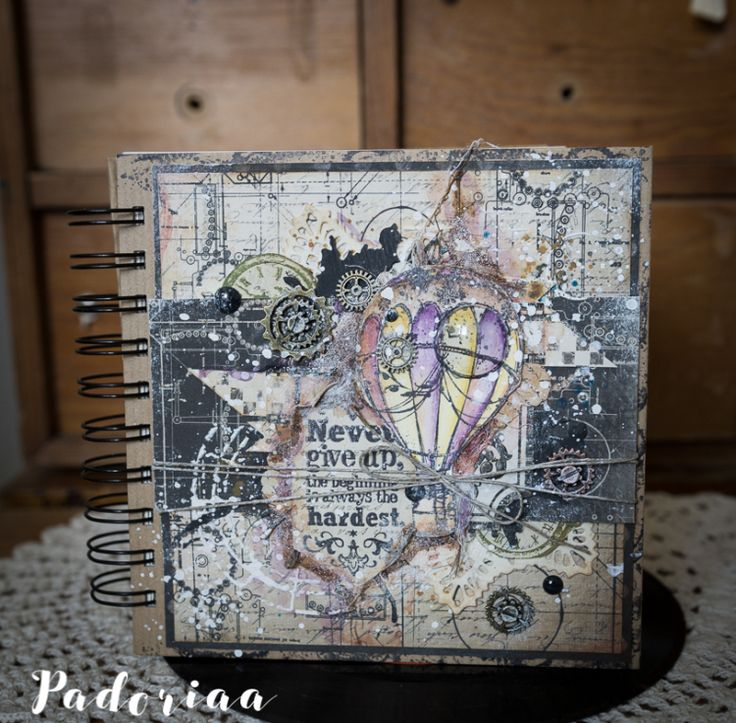 Vintage Notebook -  Paulina Monasterska-Tronina - Stempelglede :: Design Team Blog