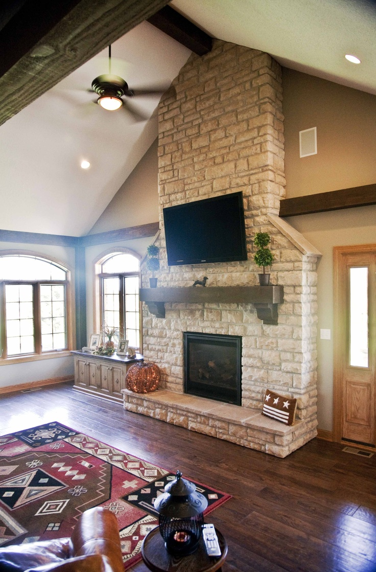Fireplace, Great Room, Addition