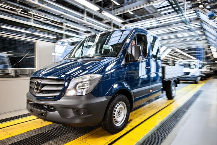 The new Mercedes-Benz Sprinter celebrates its first year of production