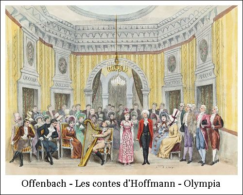Offenbach – Les contes d'Hoffmann – Olympia