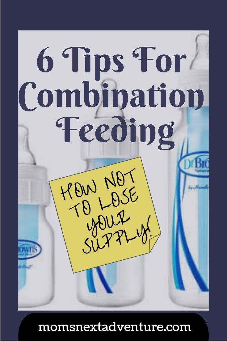 How to make breastfeeding and formula feeding work! Combination feeding is possible and here are my tips that helped my supply last for 1 year and counting!