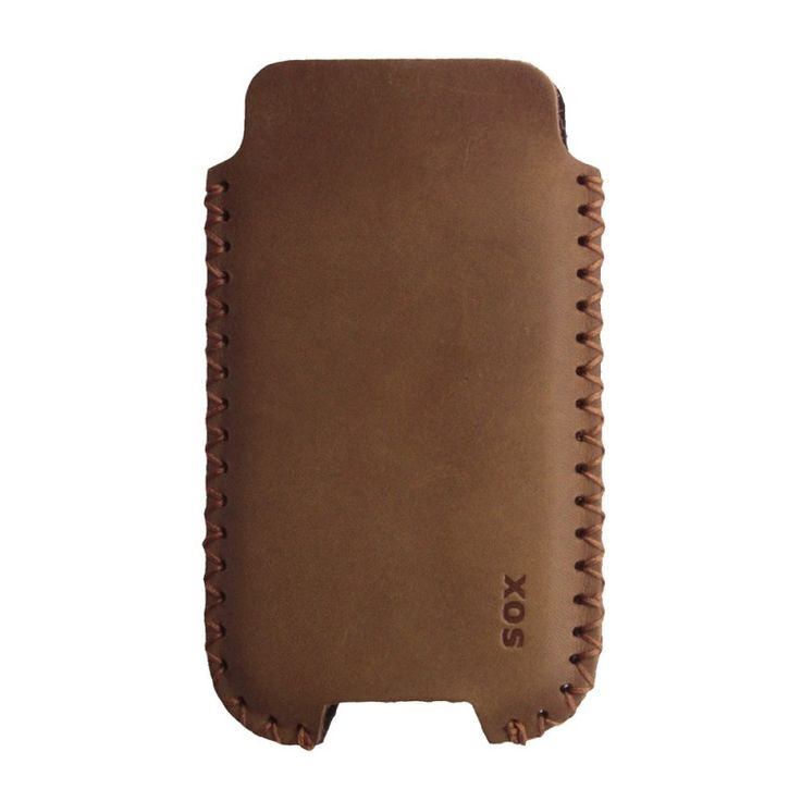 SOX Handmade Case [Plain Brown], Uniwersalna wsuwka na smartfon