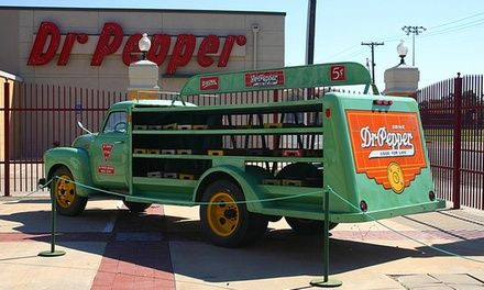 Museum in former Dr Pepper HQ houses 3 floors of exhibits dedicated to Dr Pepper and the soft drink industry