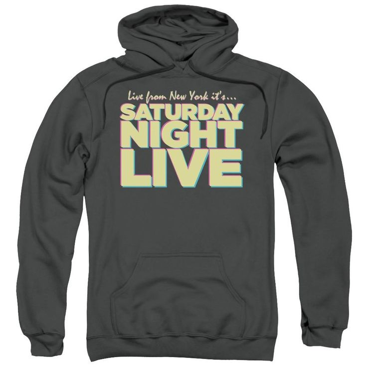 SNL Live From NY Pull Over Hoodie