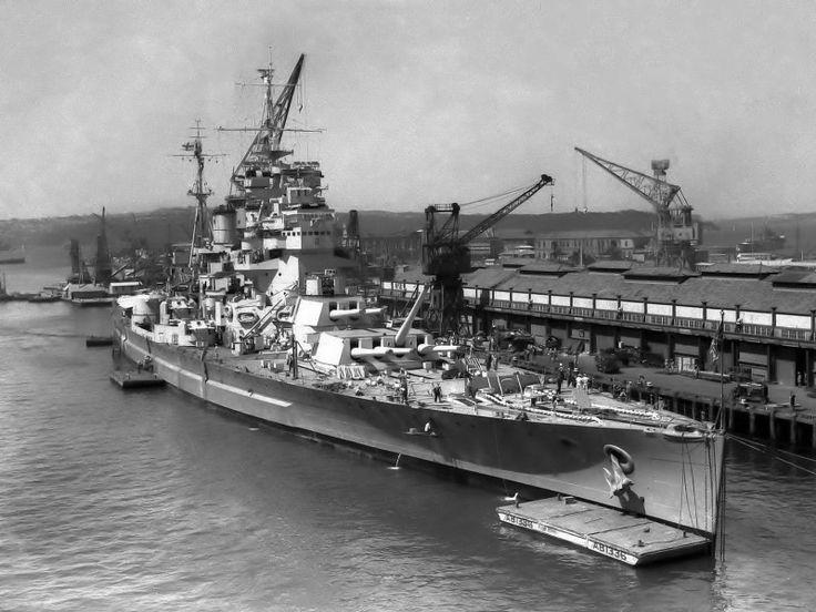 14 in King George V class battleship HMS Duke of York, victor over Scharnhorst on Boxing Day 1943.
