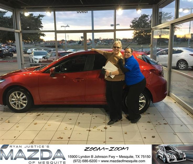 https://flic.kr/p/QGYDBT | Congratulations Cynthia on your #Mazda #Mazda3 5-Door from Gabby Duran at Mazda of Mesquite! | deliverymaxx.com/DealerReviews.aspx?DealerCode=B979