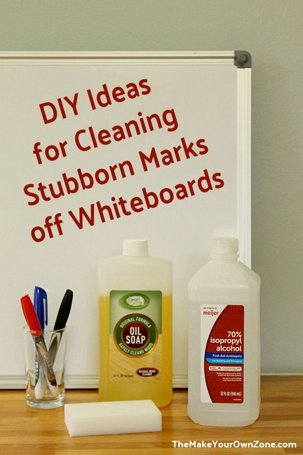 How To Clean Stubborn Marks Off A Whiteboard Clean Dry Erase Board Cleaning White Board Cleaner