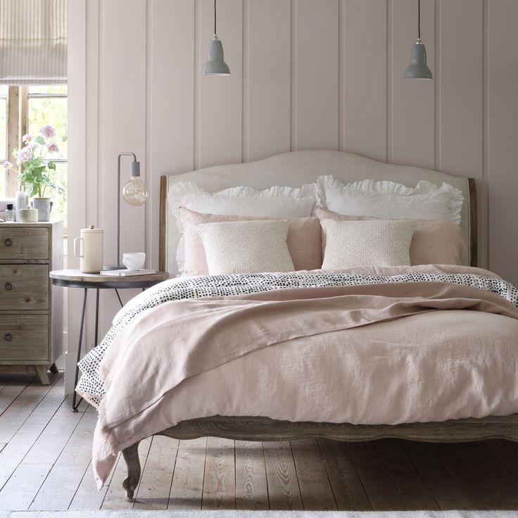Decorating with blush pink, our Coco bed sets the scene | Ideal Home