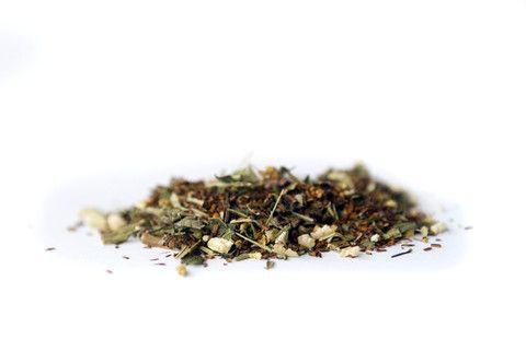 loose leaf rooibos herbal tea - glowing mama