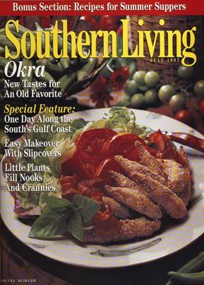 July 1997 | Okra: New Tastes For An Old Favorite. Southern Living Magazine OkraMagazine ...