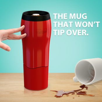 Try as you might, you can't knock this mug over! The mighty mug is perfect for the clumsy ones in our lives even if that clumsy person is ourselves!