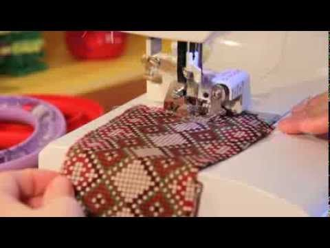 4) PIE RECORTA LADOS. How to Use a Side Cutter (Cut & Hem)