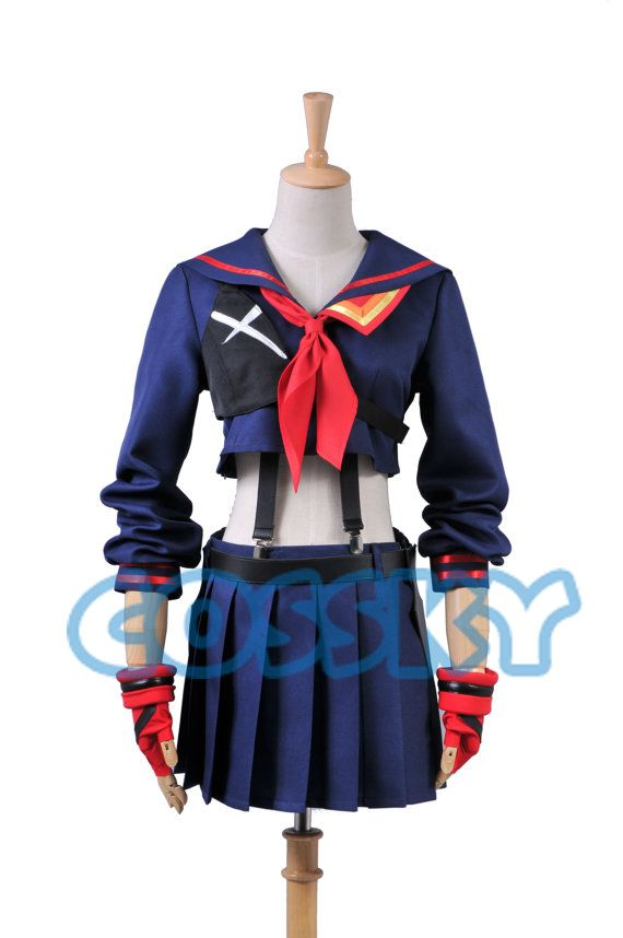 KILL la KILL Ryuko Matoi Cosplay Costume by cossky on Etsy