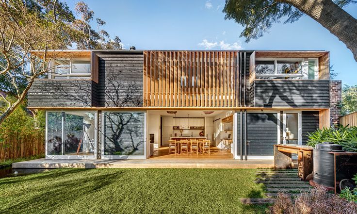 A Contemporary Barn Inspired Home In Sydney