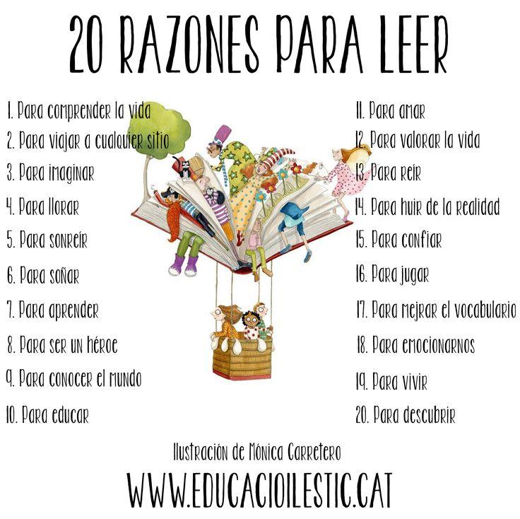 20 razones para leer
