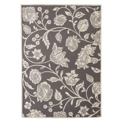 Threshold  Indoor Outdoor Floral Area Rug   Gray  Saw this at Target and. 17 Best ideas about Target Area Rugs on Pinterest   Cheap rugs