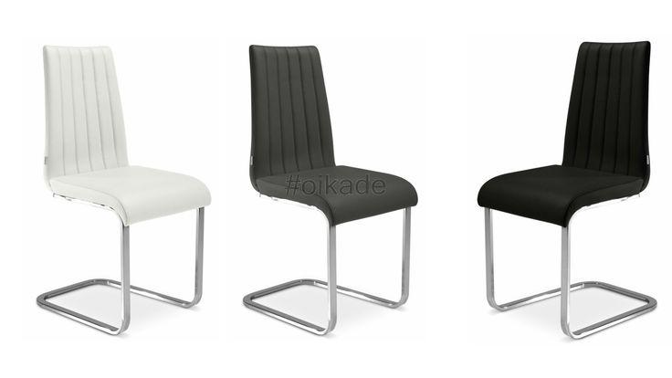 καρέκλα, καρέκλες, καρέκλες-τραπεζαρίας, Ιταλικές-καρέκλες, καρέκλες-ίνοξ-βάση, έπιπλα-τραπεζαρίας,