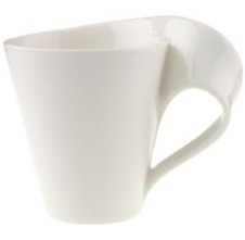 Villeroy and Boch Café Right Handed XL Mug 0.25ltr - White