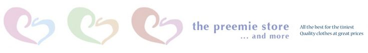 Preemie Clothes - NICU Clothes - Premature Baby Clothes Another great site for premature babies