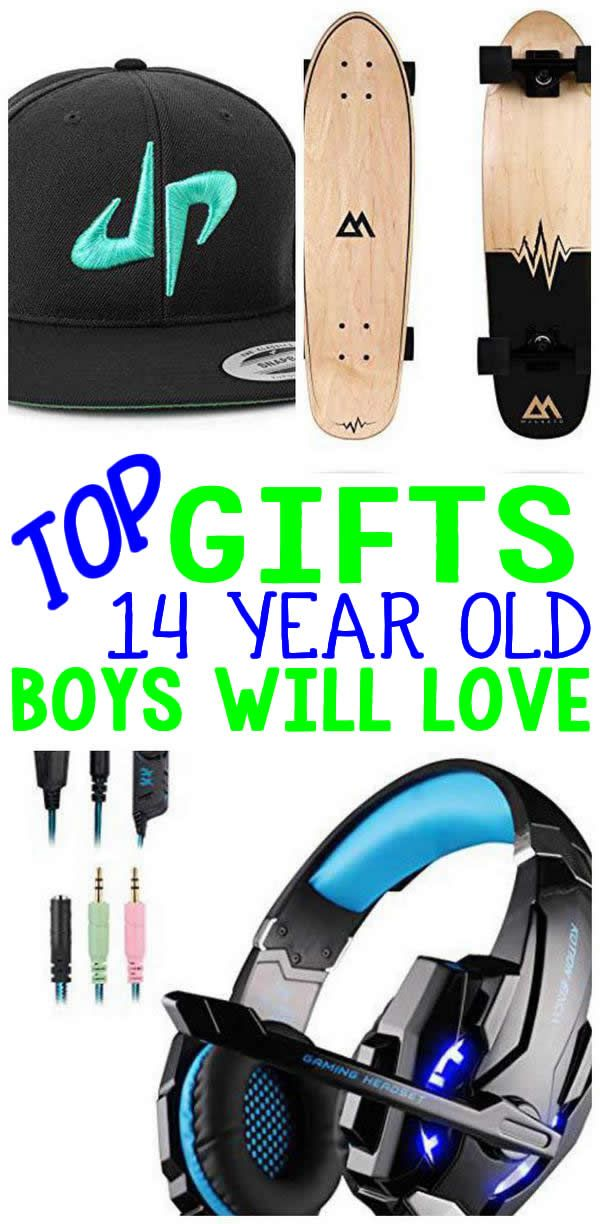 DO NOT Miss The BEST Gifts For 14 Year Old Boys EPIC They Will Love Presents A 14th Birthday Christmas Or Holiday Great