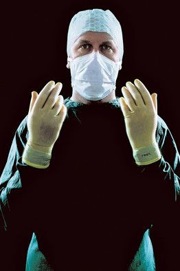 After an operation, most surgeons tend to underestimate the amount of blood that was lost....