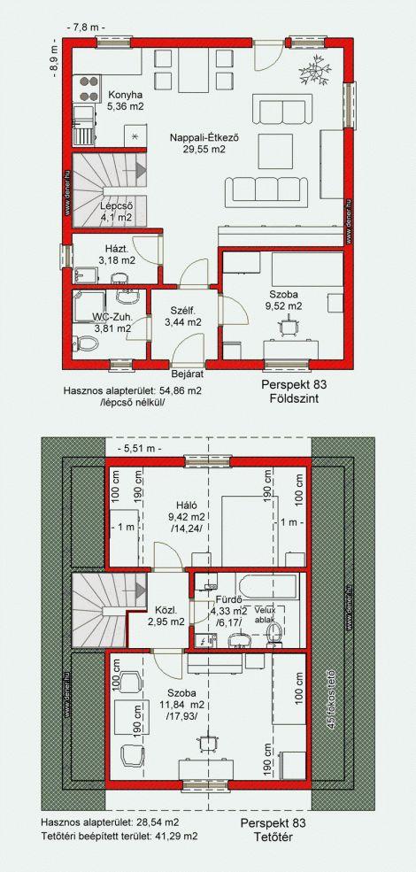 Olcsó kis és közepes alapterületû könnyûszerkezetes házak