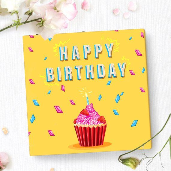 Unique Birthday Card With Video Screen Birthday Greeting Etsy Unique Birthday Cards Birthday Greeting Cards Birthday Greetings