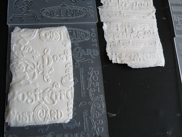 Embossing toilet paper for scrapbooking & other paper crafts