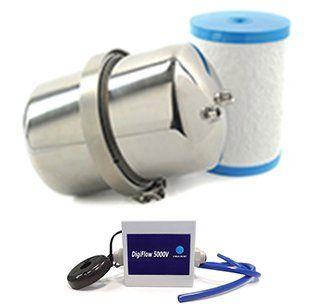 Multipure Aquaversa MP1200EL NEWEST MODEL Capacity-Metered Under-Sink Water Filter - Includes Capacity-Metered Faucet
