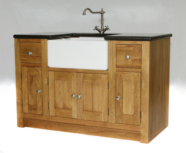 107 This Sink Unit Has 2 Working Drawers And 3 Generous Cupboards Freestanding Kitchenkitchen